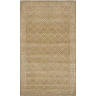 Safavieh Hand-knotted Nepalese Multi Wool/ Silk Rug (6' x 9')