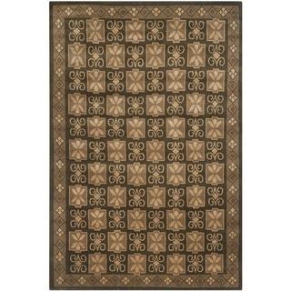 Safavieh Hand-knotted Nepalese Multi Wool/ Silk Rug (9' x 12')