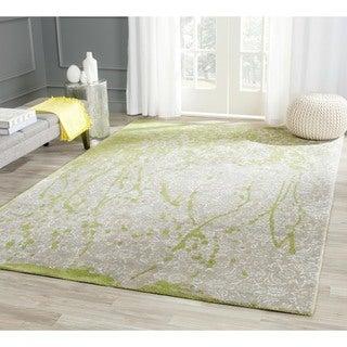 Safavieh Handmade Bella Silver Wool Rug (9' x 12')