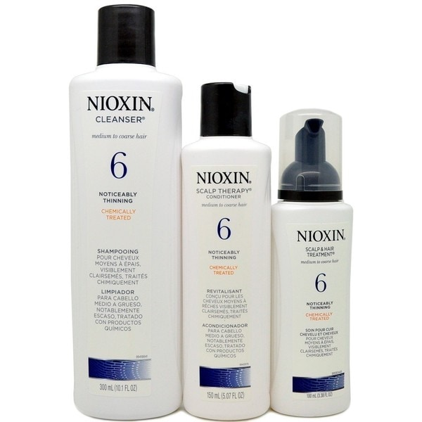 Nioxin System 6 For Thinning Hair 3 Piece Kit