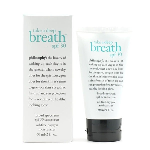 Philosophy Take A Deep Breath 2-ounce Oil-free Oxygen Moisturizer SPF 30