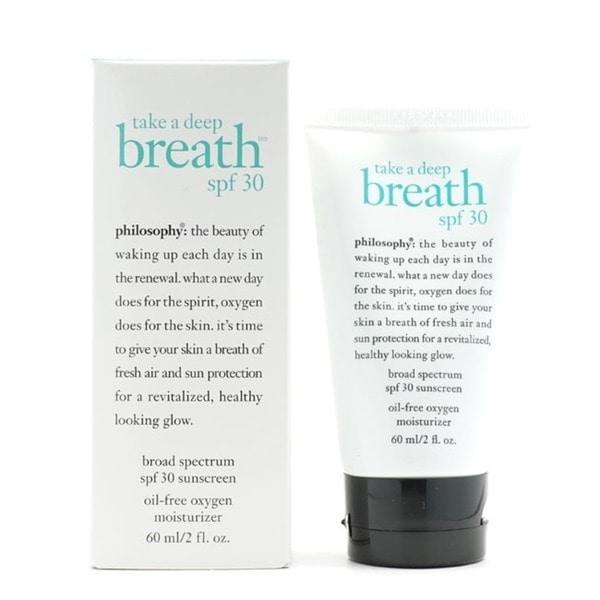 Philosophy Take A Deep Breath 2-ounce Oil-free Oxygen Moisturizer SPF 30