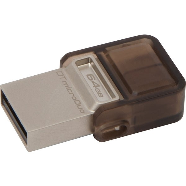 Kingston 64GB DataTraveler microDuo USB 2.0 On-The-Go Flash Drive