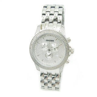 Joe Rodeo Men's 1/4ct 'JoJino' White Diamond Watch