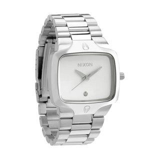 Nixon Men's Player Silver Watch