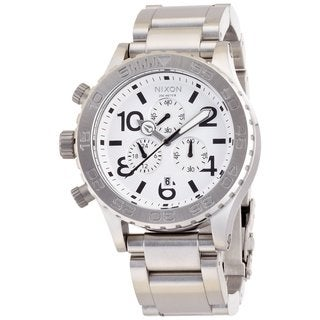 Nixon Men's Chrono White Watch