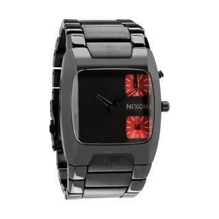 Nixon Men's Banks Black Gunmetal Watch