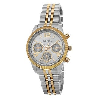 August Steiner Women's Swiss Quartz Multifunction Stainless Steel Bracelet Watch