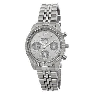 August Steiner Women's Swiss Quartz Multifunction Stainless Steel Bracelet Watch