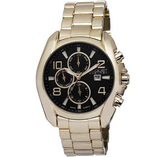 August Steiner Men's Swiss Quartz Multifunction Bracelet Watch