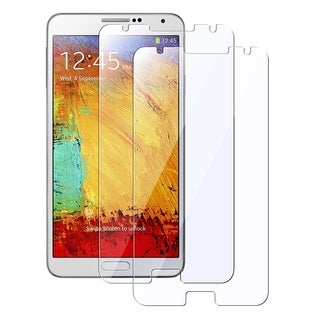 BasAcc Clear LCD Screen Protector Film for Samsung Galaxy Note III N9000 (Pack of 2)