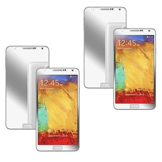 INSTEN Mirror Screen Protector Film for Samsung Galaxy Note III N9000 (Pack of 2)
