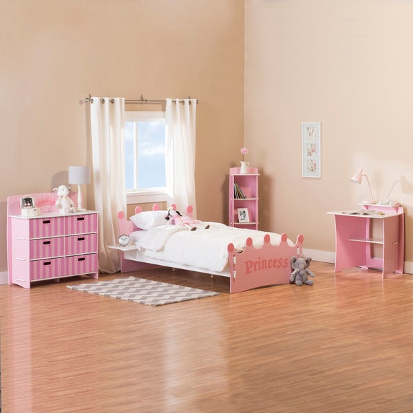red star traders legare princess bedroom in a box 16161382