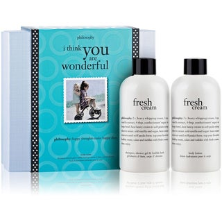 Philosophy 'I Think You Are Wonderful Fresh Cream' 2-piece Set