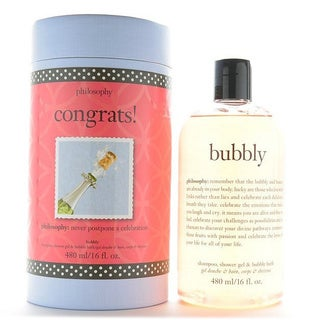 Philosophy Congrats 16-ounce Bubbly Shampoo Shower & Bubble Bath Gel