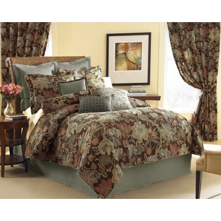 Audubon 6-piece Comforter Set with Optional Euro Sham Sold Separately