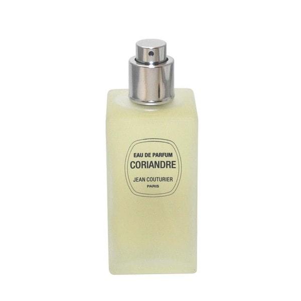 Jean Couturier Coriandre Women's 3.3-ounce Eau de Parfum Spray (Tester)