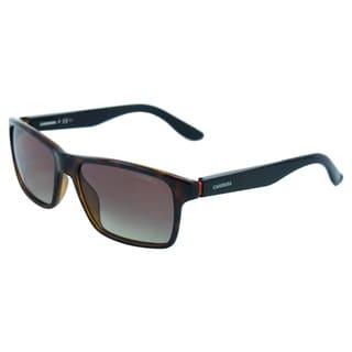Carrera Unisex '8002 2XFLA' Polarized Havana Black Sunglasses