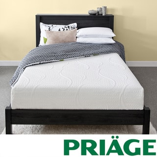 Priage Green Tea 8-inch Twin XL-size Memory Foam Mattress