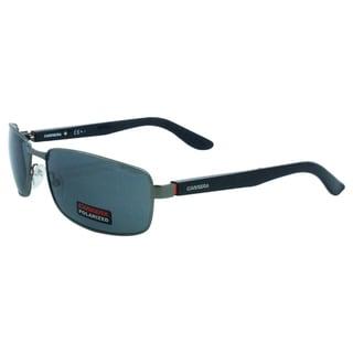 Carrera Men's '8004 27HY2' Dark Ruthenium Black Polarized Sunglasses
