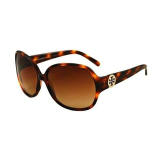 Tory Burch Women's Tortoise/Brown Gradient Sunglasses