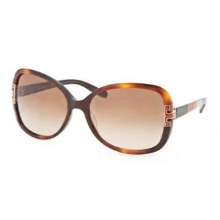 Tory Burch Women's TY 7022 Amber Block/Brown Gradient Sunglasses