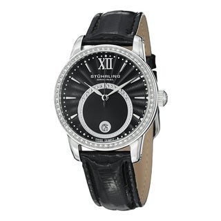 Stuhrling Original Women's Dawn Swiss Quartz Leather Strap Watch