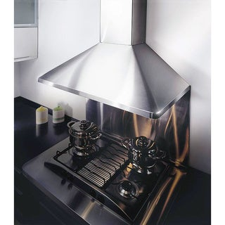 KOBE Brillia RAX094 Series, 30-inch Wall Mount Range Hood, 680 CFM, Stainless Steel, Baffle Filters, QuietMode, LED Lights