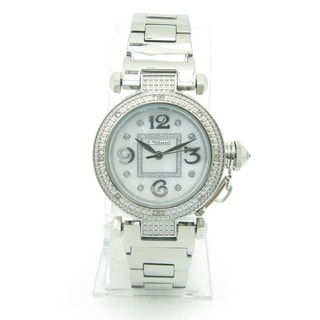 Joe Rodeo Women's 'JoJino' Stainless Steel Diamond Watch