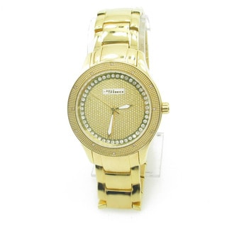 Joe Rodeo 'JoJino' Goldtone Diamond Watch