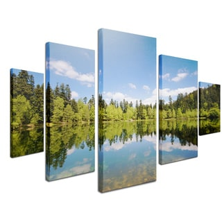 Philippe Sainte-Laudy 'Muir Woods' 5-piece Canvas Art