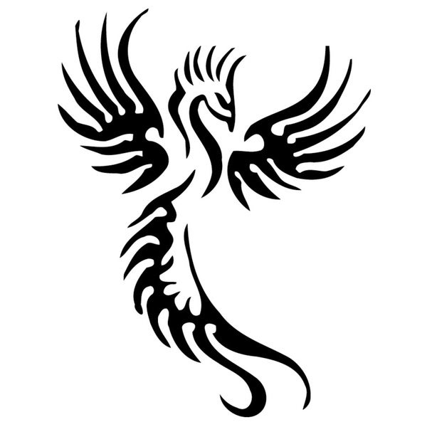 Dragon Tattoo Vinyl Decal