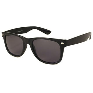 Urban Eyes Men's Black Fashion Sunglasses with Bonus Tortoise Shell Sunglasses