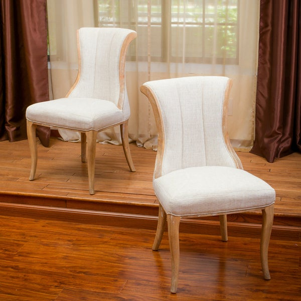 Christopher Knight Home Kathryn Wood Dining Chair (Set of 2)