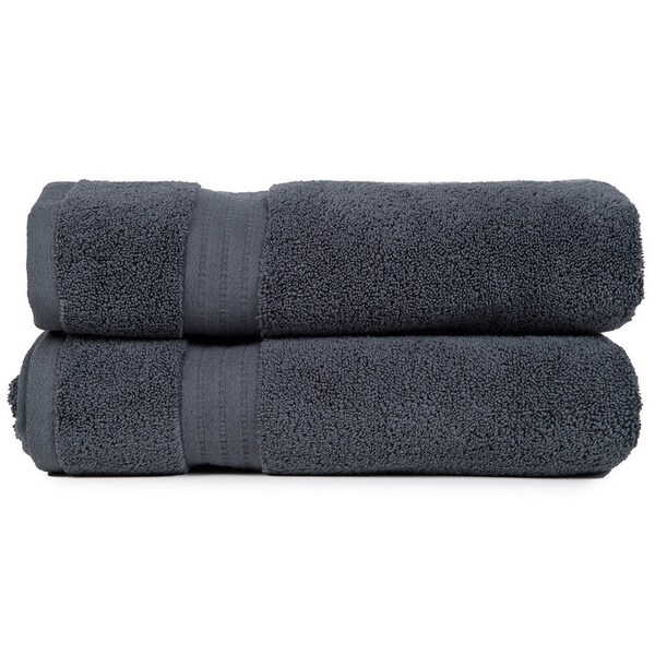 Zero Twist Super Absorbent Bath Towel (Set of 2)