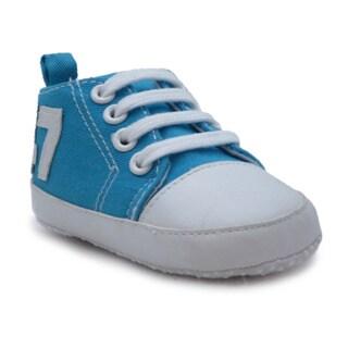 Blue Neutral 'P-Flyer' Fabric Shoes
