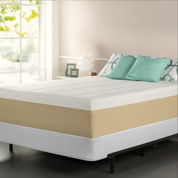 Priage Green Tea 14-inch California King-size Memory Foam Mattress