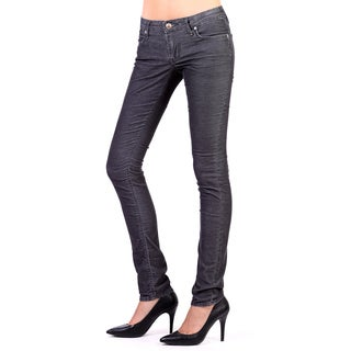 Stitch's Women's Comfort Light Weight Corduroy Slim Fit Trousers