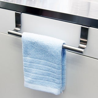 Over-the-cabinet Stainless Steel Kitchen Towel Rack