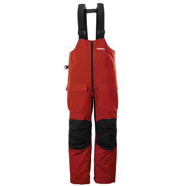 Frabill F2 Surge Red Rain Suit Bib