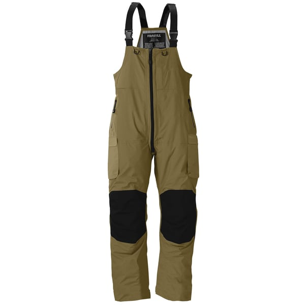 Frabill f3 gale rainsuit bib 16162000 for Best ice fishing bibs