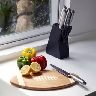 Football Bamboo Chopping Board/ Serving Tray