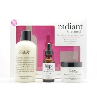 Philosophy Radiant & Refined for Normal to Combination Skin 3-piece Set