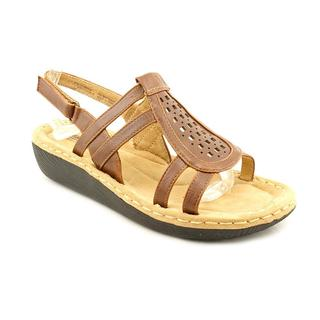 White Mountain Women's 'Chorus' Leather Sandals (Size 8 )