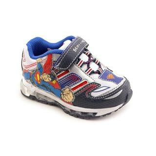 Superman Boy (Toddler) 'Man of Steel Sneaker' Synthetic Athletic Shoe