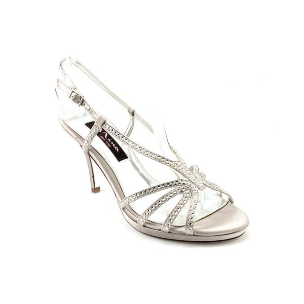 Nina Women's 'Bobbie' Satin Sandals (Size 7 )