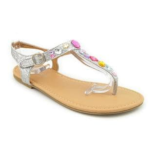 Rampage Girls Girl (Youth) 'Jordyn' Basic Textile Sandals