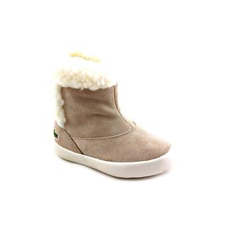 Lacoste Girl (Infant) 'Trentham CWK SPI' Regular Suede Boots (Size 4 )