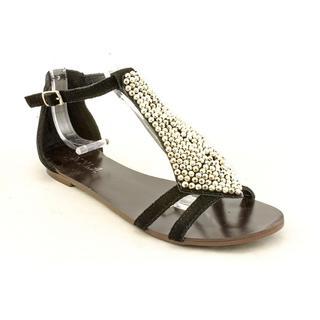 NYLA Women's 'Therow' Nubuck Sandals