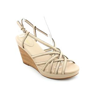 Cole Haan Women's 'Air Shayna Wedge' Leather Sandals